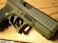 For Sale: TMT GLOCK G19 CUSTOM US FLAG 9MM NATO MHS GLOCK 19 trijicon zev glock 9mm luger g 19 nato glock u.s