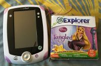 LeapFrog LeapPad 1 Explorer Learning Tablet and Tangled Game
