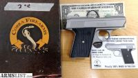 For Sale: Brand New Cobra Satin CA-380 compact pistol - Factory 2nd - Bargain of the Month