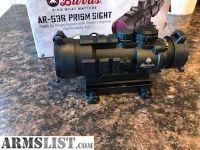 For Sale: Burris AR-536 5X prism scope
