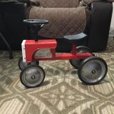 Excellent condition Kids Metal Tractor from Land s End Retails For $79.95