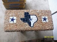 Handcrafted Rock Benches