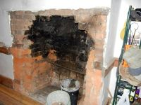 DEMO - Chimney & fire place - Demo / remove - G.C.