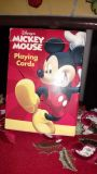 Mickey Mouse playing cards