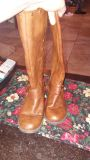 Size 1 riding boots. Like new. Worn once.