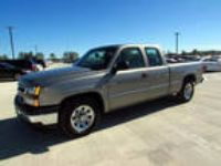 2006 Silverado 1500 Chevrolet Work Truck 4dr Extended Cab 6.5 ft. SB