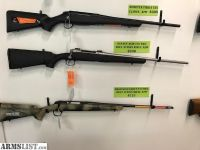 For Sale: New Savage Axis 270 Winchester Bolt Action Rifle REBATE