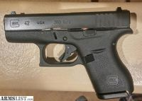 For Sale: Glock 42 w/ G-code Eclipse IWB holster
