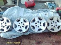 4 Chevy 17 6 hole Truck Rims
