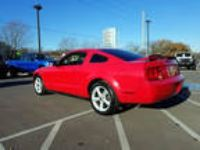 2007 Mustang Ford V6 Deluxe 2dr Fastback Red Coupe RWD V6 4.00L