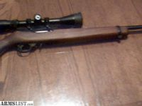 For Sale: Ruger 10/22 with P4 scope/custom wood stock