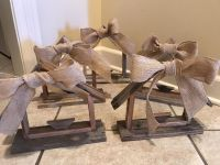 Reclaimed Wood mangers. Raising money for St Jude Half Marathon. $20each. 10 available. Xposted