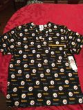New with tags Steelers Medical Scrub Top