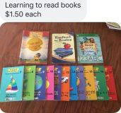 Learn to read books