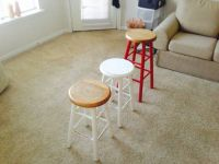 Rustic Stools (sold individually or together)