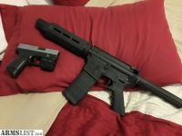 For Sale/Trade: 7.5in AR-15 pistol