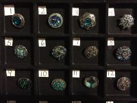 NEW, SNAPS FOR INTERCHANGEABLE JEWELRY, FITS GINGERSNAPS BRAND, TEAL / MULTI