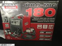 For Trade: *New Unused Lincoln Pro 180 230v wire feed Mig/Flux Wlder