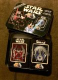 Stars Wars Tin with Playing Cards