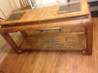 Large Solid Wood Vintage behind the sofa or buffet table