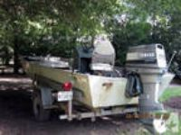 All Aliminum Fishing Boat -