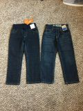 Gymboree Jeans. Both Adjustable Waist. Both Classic Fit. Size 5. Brand New with Tags.