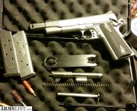 For Sale: Kimber stainless ii with extras