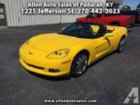 2011 Chevrolet Corvette Base 2dr Convertible w/4LT