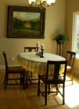 $200, Oak Dining Table  4 chairs