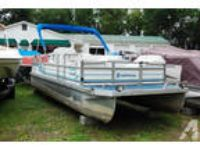 JC Neptoon Pontoon - 20 ft. - 40 hp Force