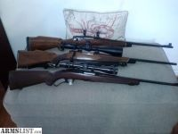 For Sale: Hunting rifles Win. Sav.Mossberg Take you pick