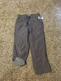Old Navy Jersey Lined Pants. Grey. Size 5t. Brand New with Tags.