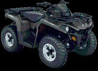 2018 Can-Am Outlander DPS 570 Utility ATVs Eugene, OR