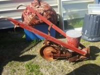 Antique cole planter horse drawn