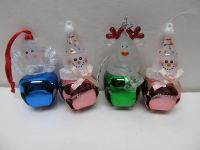 4 Bell Ornaments $1 ALL