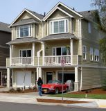 3BDRM 2.5BTH Condo built in 2009 End Unit, garage, Central AC, gas FP,furnace, and stove