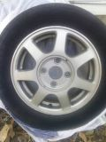 Honda Rims with Tires
