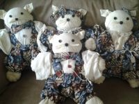Handmade & Sewn Craft Items Vests Dolls & Cats!