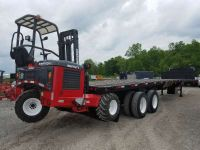 $20,900, 2002 Fontaine 48#39; x 102 Flatbed Moffett Trailer