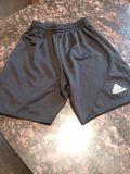 Adidas soccer shorts, youth XS; excellent used condition