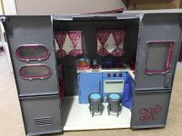 Our Generation RV Camper + food accessory kit