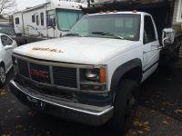 Used 1993 GM 3500 SERIES SLT, DUMP TRUCK, DIESEL, 123,500 miles