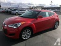 2016 Hyundai Veloster Base 3dr Coupe DCT w/Yellow Accent Interior