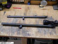 For Sale: Mossberg 500 slug barrel, Nikon scope