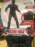 Deluxe Black Panther Costume Age 3-4