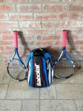 Babolat tennis racquets and backpack