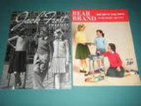 2 Vintage 1950,1960 Kids Knit Pattern Books Sweaters Socks