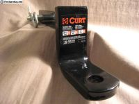 "CURT 1-1/4"" Class 1 Ball Mount Trailer Hitch"