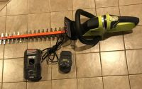 NEW Ryobi 22 in. 18-Volt Lithium-Ion Cordless Hedge Trimmer