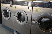 Good Condition Speed Queen Commercial Front Load Washer SC50EC 3PH 50 Lb Reconditioned